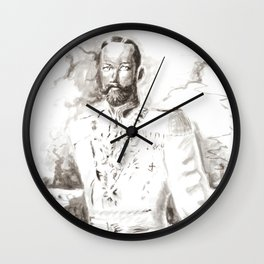 Fantastic Man in Uniform Wall Clock