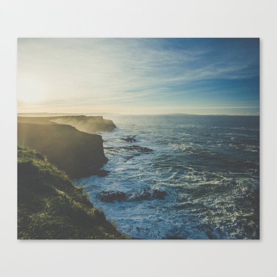I Will Come Back But First... // Landscape // Edge of Cliff Photography #society6 #art #prints Canvas Print