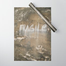 Fragile city Wrapping Paper
