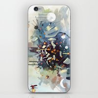 earthbound iPhone & iPod Skins featuring Big Bang by Travis Clarke