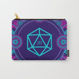 Cyberpunk Steampunk D20 Dice Tabletop RPG Gaming Carry-All Pouch