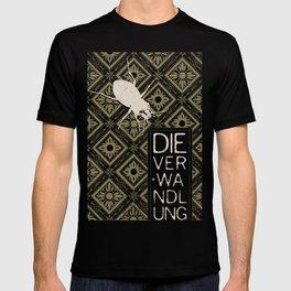 Books Collection: Kafka, The Metamorphosis T-shirt