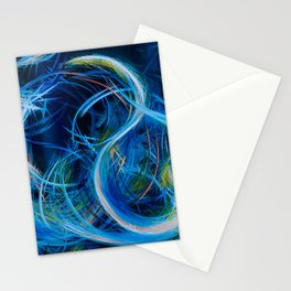 Just Floating On The Tears (Flears) Stationery Cards