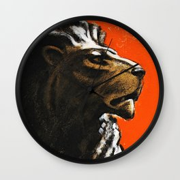 Stand Firm! Wall Clock