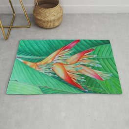 Heliconia Rug
