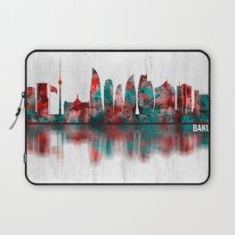 Baku Azerbaijan Skyline Laptop Sleeve