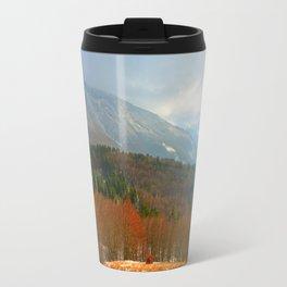 Landscape with snow Travel Mug