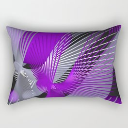 3D - abstraction -124- Rectangular Pillow