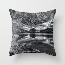Buttermere Lake Throw Pillow