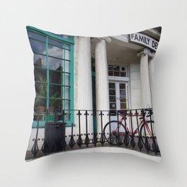 Family Dental Practice Edinburgh Throw Pillow
