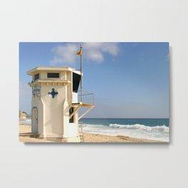 Laguna Beach Lifeguard Tower Metal Print