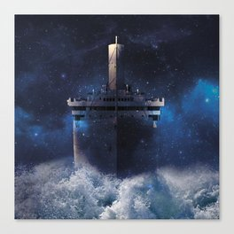 Ship of dreams  Canvas Print