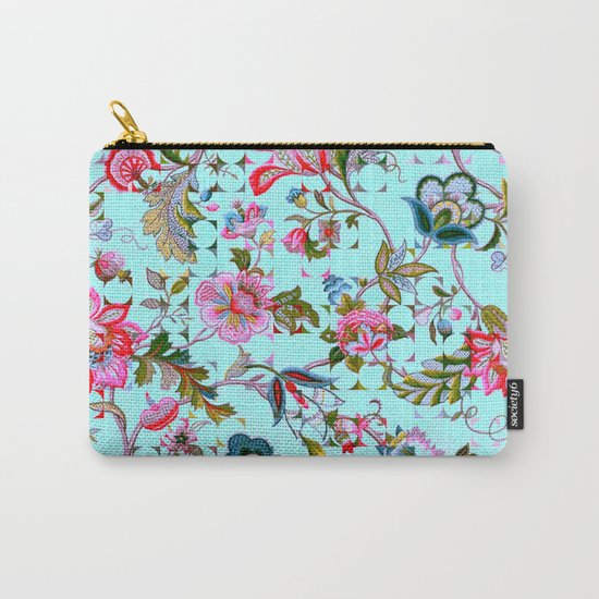 ancient floral Carry-All Pouch