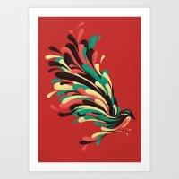 window Art Prints featuring Avian by Jay Fleck