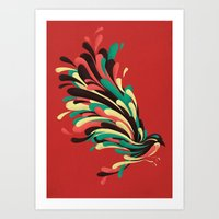 Art Prints featuring Avian by Jay Fleck