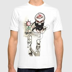Sketch 2 Mens Fitted Tee White MEDIUM
