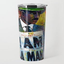 African American Atlanta Civil Rights Memorial Portrait No. 1 Travel Mug