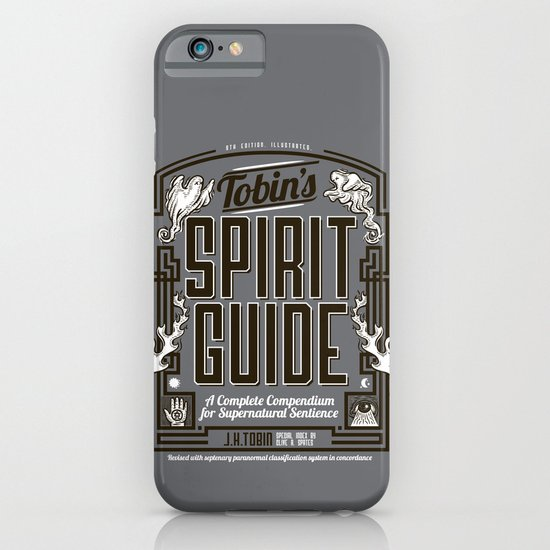 The Ghostbusters Greatest Resource: Tobin's Spirit Guide. iPhone & iPod Case