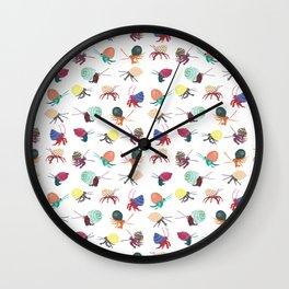 Hermit Crabs Wall Clock