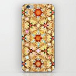 kaleidoscope - releitura de um jardim iPhone Skin
