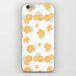 Petite Yellow Bouquet iPhone Skin