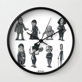 Artists Wall Clock