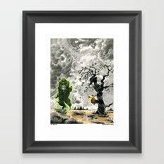 Spectre Framed Art Print