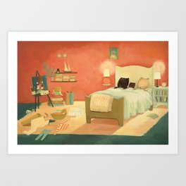 Goodnight Littlest Family by Emily Winfield Martin Art Print