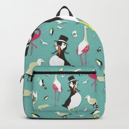 Party Birds - Pattern Backpack