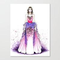 sparkle Canvas Prints featuring Sparkle by Tania Santos