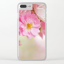 rose1 Clear iPhone Case