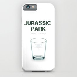 Jurassic Park - Alternative Movie Poster iPhone Case