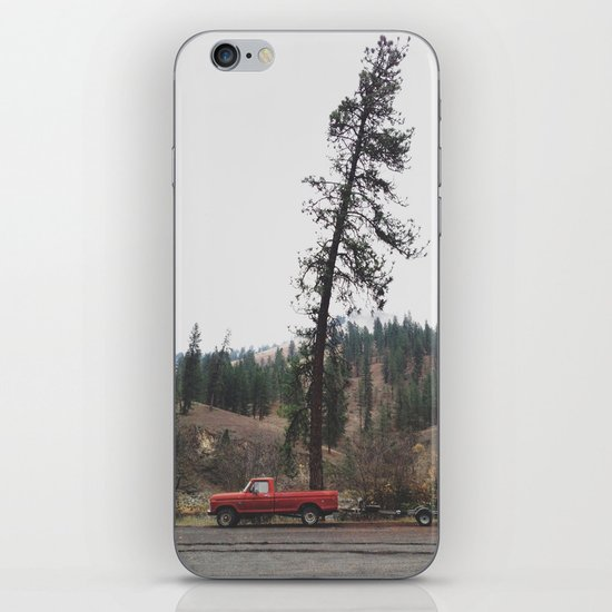 Tree Truck iPhone & iPod Skin