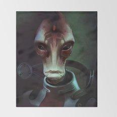 Mass Effect: Mordin Solus Throw Blanket