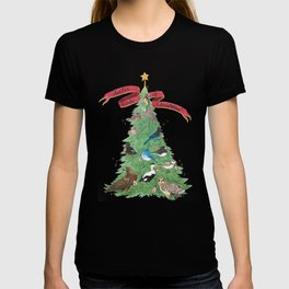 The Twelve Birds of Christmas T-shirt
