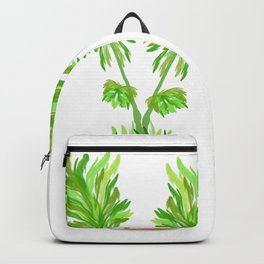 Potted Palm Backpack