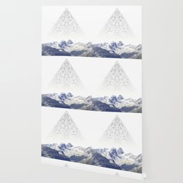 triangle mountain / mountain photo art / wanderlust Wallpaper