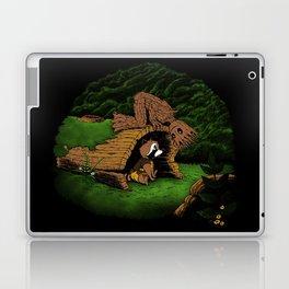 The Tree and the Raccoon Laptop & iPad Skin
