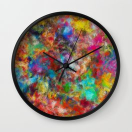 The Reef of Miracles Wall Clock