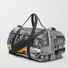 NYC - Yellow Cabs - Bagel Cafe Duffle Bag