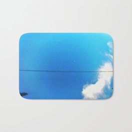 Circle Blue Bath Mat