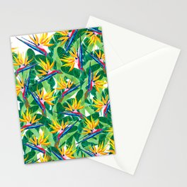 Summer Strelitzia Stationery Cards