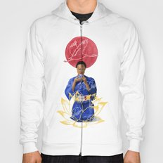 Asian Lotus Hoody