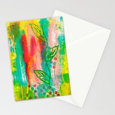 Polka Dots & Vine Stationery Cards