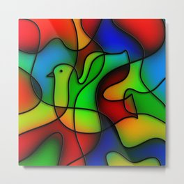 Dove of Peace Metal Print