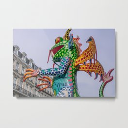 Monster frog Metal Print