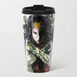 Woman of wonder (a close look) - Daniela Mela Travel Mug