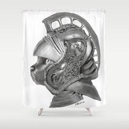 Cat Gladiator Shower Curtain