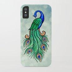 Peacock Slim Case iPhone X