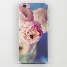 Ranunculus In Blue iPhone & iPod Skin